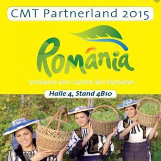 Romania, tara partenera in cadrul Targului International de turism CMT-Stuttgart