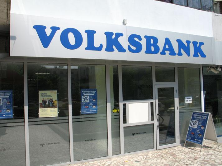 Volksbank îngheaţă cursul francului elvețian