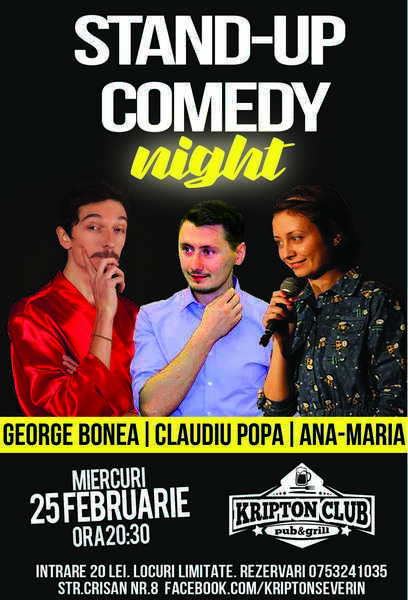 Stand Up Comedy 25 februarie 2015