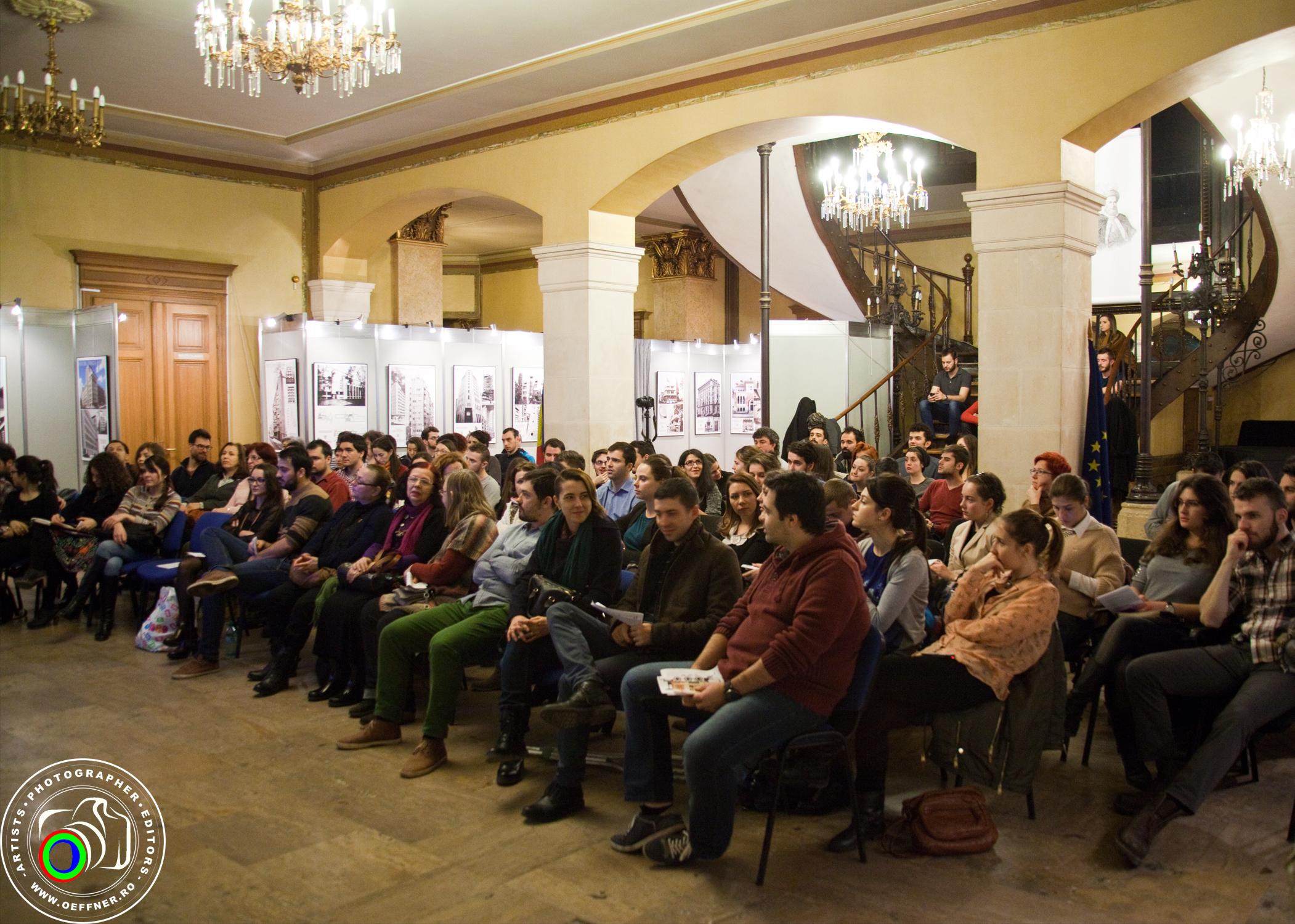 Procent record de tineri la evenimentele organizate la Palatul Suţu