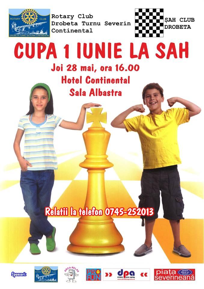 Cupa 1 Iunie la sah pentru copii