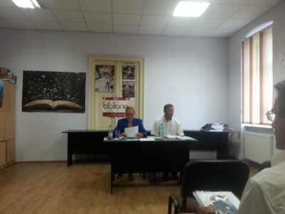 Prima Conferinţă de presă organizată de Corpul Profesional al Mediatorilor Autorizaţi din Judeţul Mehedinţi