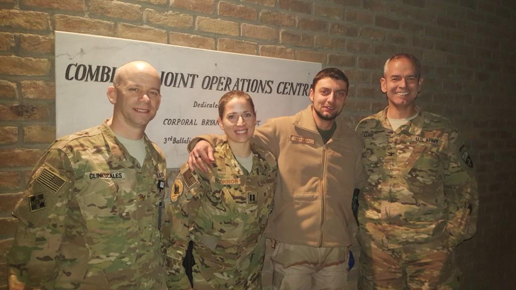 Un jandarm mehedințean a fost medaliat la întoarcerea din misiunea  Resolute  Support Mission din Afganistan