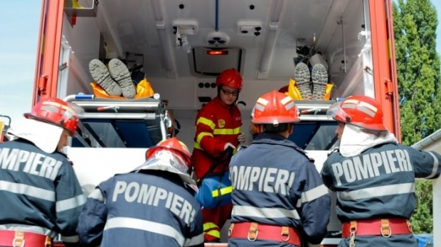 Pompierii din cadrul ISU Mehedinti – la datorie