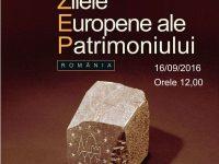 Zilele Europene ale Patrimoniului sarbatorite la Muzeul Regiunii Portile de Fier