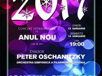 Concert extraordinar de Anul Nou 13-14 Ianuarie la Filarmonica Oltenia