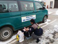 Ţigări fără marcaje fiscale, confiscate de poliţiştii de frontieră mehedinţeni