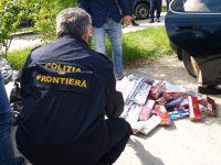 Autoturism blindat cu ţigări depistat de poliţiştii de frontieră severineni