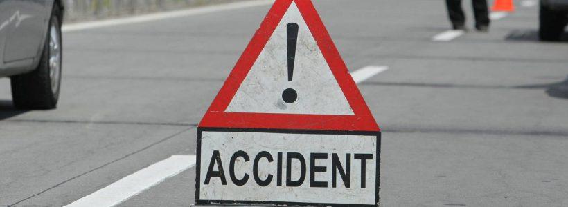 Accident ușor în Gura Văii