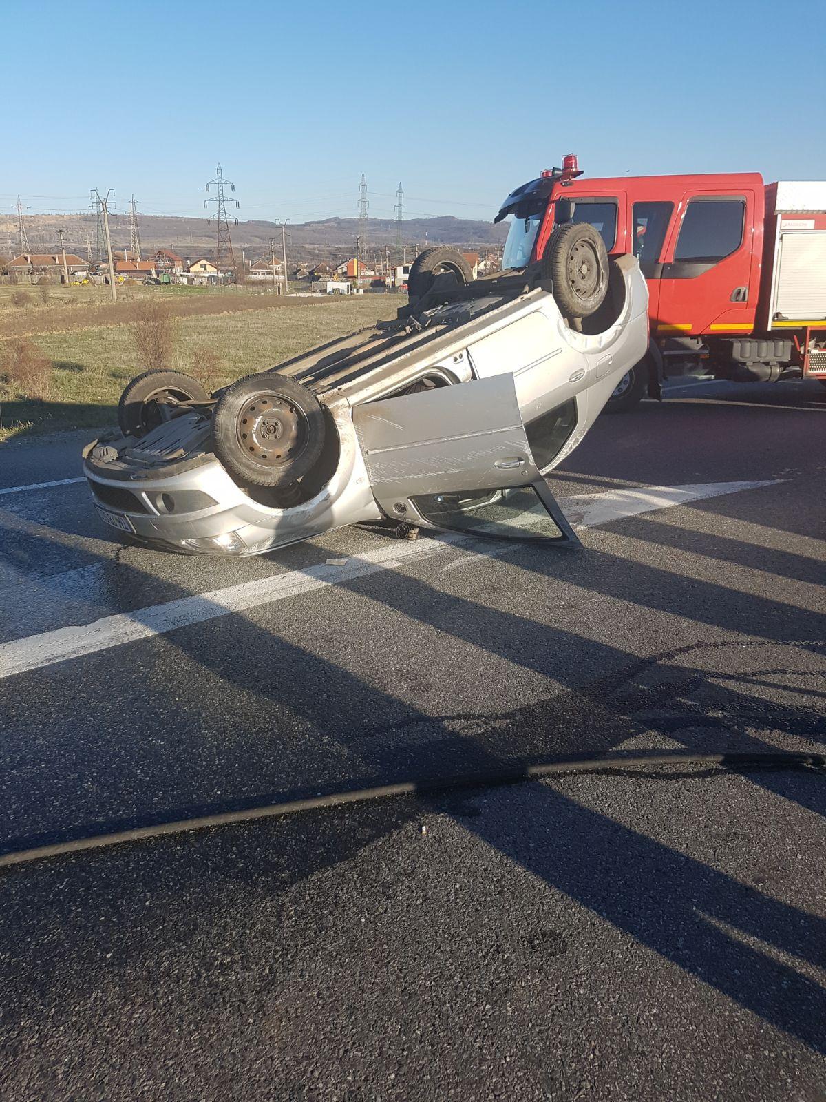 Accident rutier în Drobeta Turnu Severin