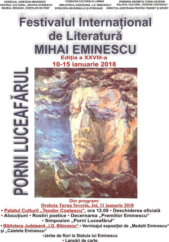 Festivalul Internațional de Literatură Mihai Eminescu