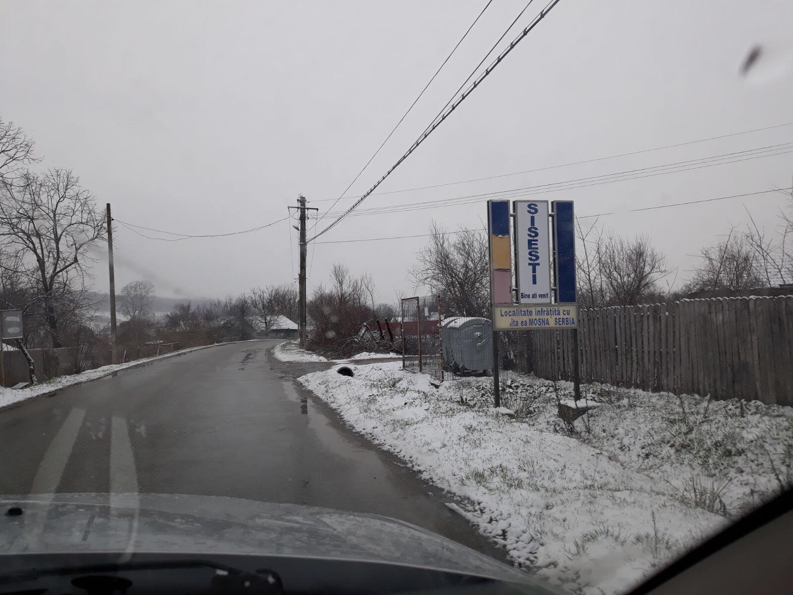 Se întoarce iarna în Mehedinți!