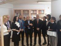 Inaugurarea secţiei de carte românească a Bibliotecii Municipale din Salonic, Grecia