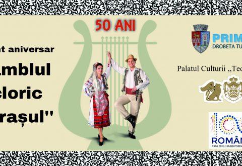 """50 de ani de la înființarea Ansamblului Folcloric ,,Izvorașul"""""""