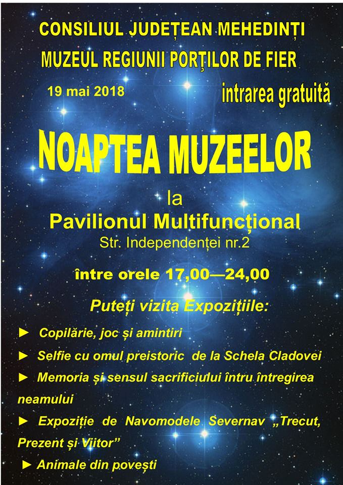 Noaptea muzeelor în Drobeta Turnu-severin