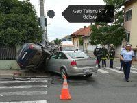 Accident rutier intersectia strazilor Maresal Averescu cu Cosbuc
