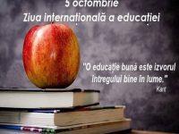 05 Octombrie, Ziua mondială a educației