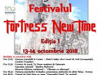 Festivalul Fortress New Time, 13-14 Octombrie 2018