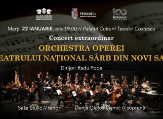 """Concert extraordinar al Orchestrei Operei Teatrului Național Sârb din Novi Sad la Palatul Culturii """"Teodor Costescu"""""""
