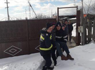 Interventie dificila a pompierilor ISU Mehedinti