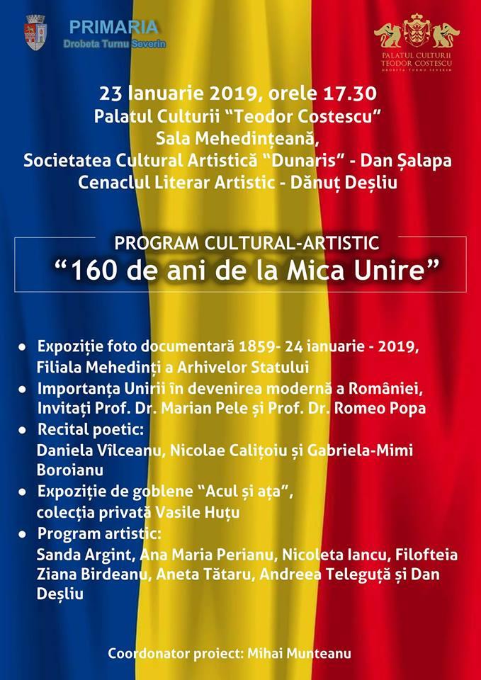 160 de ani de la Mica Unire