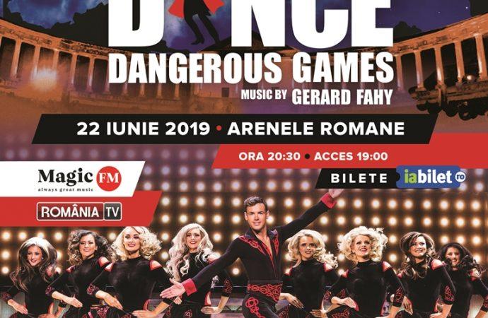 """DOUĂ CATEGORII DE BILETE  LA  SHOW-UL LUI MICHAEL FLATLEY """"LORD OF THE DANCE – DANGEROUS GAMES"""" SUNT APROAPE EPUIZATE"""