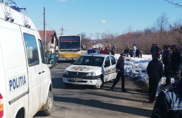 Elev accidentat mortal in sat Stejaru, Mehedinti