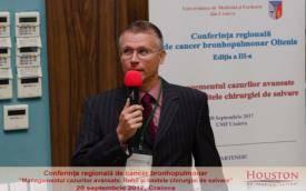 """""""Medicii capabili nu sunt neaparat apanajul centrelor universitare!"""" a declarat chirurgul severinean Eustaţiu Memu"""
